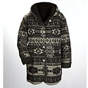 women s reversible aztec coat