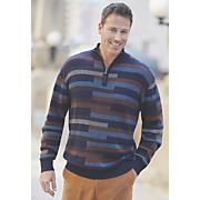 men s brick pattern sweater