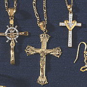 crucifix pendant 139