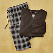 broc 2 pc  men s pajama set