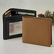 Crunch Bifold Leather Wallet
