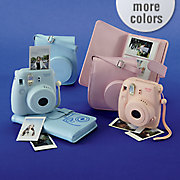 instax mini camera bundle with 20 pack of film by fujifilm