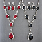 Crystal Necklace and Earring Set  2016