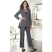 pleat back tuxedo suit