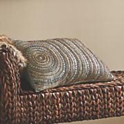beaded bazaar feather pillow