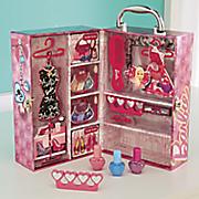 barbie dream house beauty case by mattel