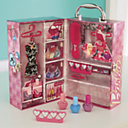 barbie dream house beauty case by mattel