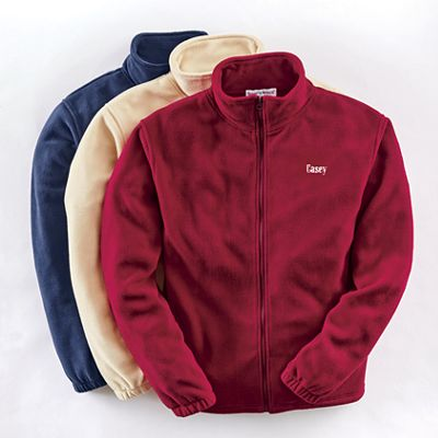 Men's Personalized Fleece Jacket