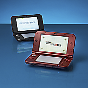 xl 3ds handheld gaming system by nintendo