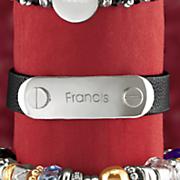 personalized screw head buckle bracelet