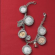 Lucky Coin Charm Bracelet