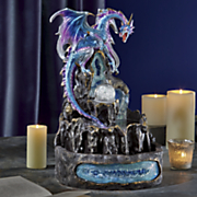blue dragon fountain