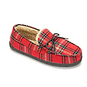 men s plaid slipper
