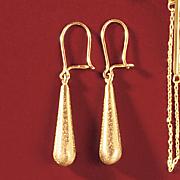 teardrop wire earrings 53