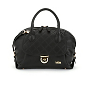 Quilted Dome Satchel
