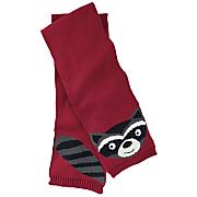 raccoon knit scarf