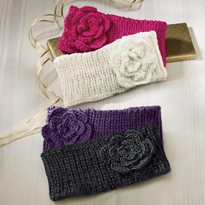 2-Pack Flower Headbands