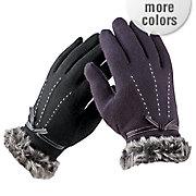 women s jemma bow glove