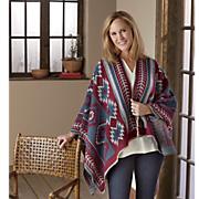 blanket ruana scarf
