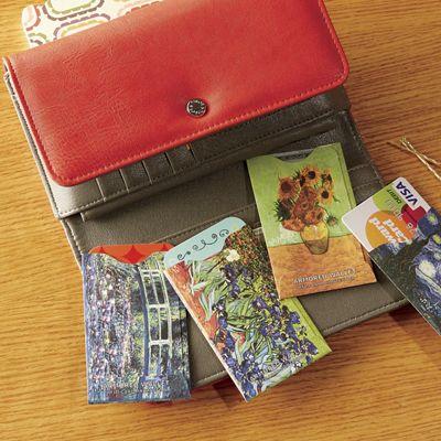 4-Piece Rfid Credit Card Sleeve Set