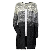 Ombre Duster Cardigan Sweater