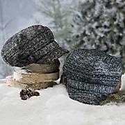 women s knit jockey cap