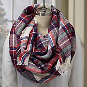 plaid blanket scarf 14