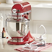 Artisan Stand Mixer with Bonus Flex-Edge Beater by Kitchenaid