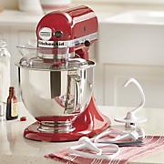 artisan stand mixer with bonus flex edge beater by kitchenaid