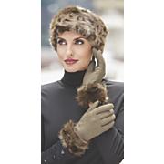 women s monroe faux fur trim glove