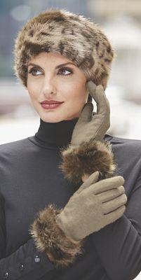 Women's Monroe Faux Fur Trim Glove