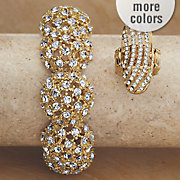 crystal stretch ring 25