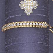 cubic zirconia slide bracelet