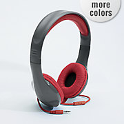 stereo headphone with in line mic by polaroid