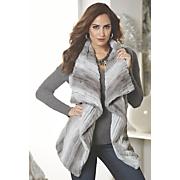 faux fur vest 50
