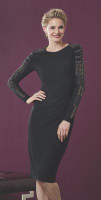 Elena Embellished Dress