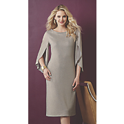 Aida Tulip Sleeve Dress