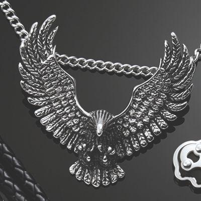 Men's Stainless Steel Eagle Pendant