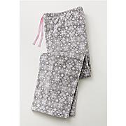 women s snowflake plush pajama pants
