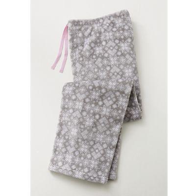 Women's Snowflake Plush Pajama Pants