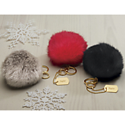 Puff Ball or Personalized Tag