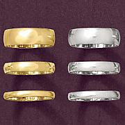 4mm Unisex Gold Band