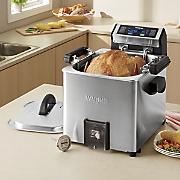 turkey fryer  rotisserie and steamer by waring