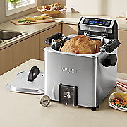 turkey fryer  rotisserie and steamer by waring