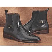men s animal embossed boot