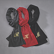 personalized cashmere blend scarf