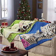 animal fleece throw 12