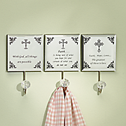 3 pc  cross wall hook set