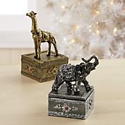 safari trinket box