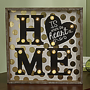 home sign 222